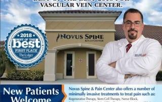 Novus Spine & Pain Center wins 2018 Best of the Best Award in Lakeland, Florida